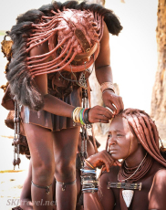 himba hairstyle, traditional himba