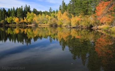 Mud Lake in Autumn