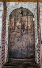 roman tower door