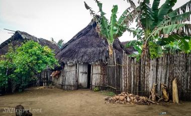 village_hut door open